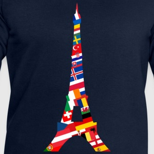 L'Europe Tour Eiffel Tee shirts - Sweat-shirt Homme Stanley & Stella