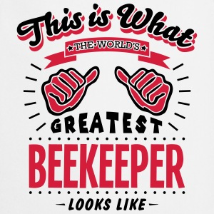 beekeeper worlds greatest looks like - Cooking Apron
