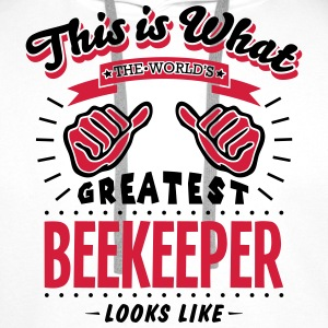 beekeeper worlds greatest looks like - Men's Premium Hoodie