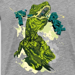 Animal Planet Kinder Langarmshirt Tyrannosaurus Re - Männer Premium T-Shirt