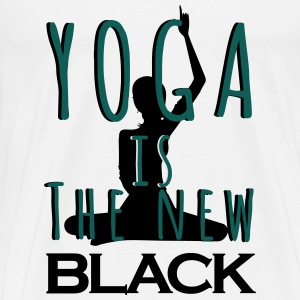 Yoga is the new Black débardeur - T-shirt Premium Homme