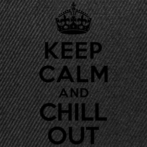 Keep calm and Chill out Vêtements de sport - Casquette snapback