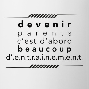 Boxer Devenir parents - Tasse