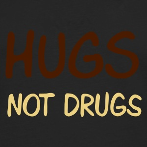 :: hugs not drugs :-: - T-shirt manches longues Premium Homme