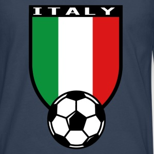 Italy football fan shirt 2016 T-Shirts - Men's Premium Longsleeve Shirt
