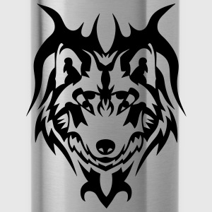 tribal tattoo wolf wildes tier Pullover & Hoodies - Trinkflasche