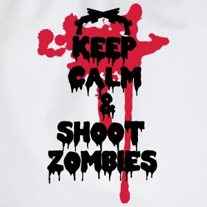 Keep calm and shoot zombies - Sacca sportiva