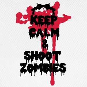 Keep calm and shoot zombies - Cappello con visiera