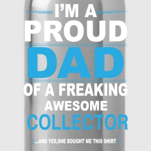 dad COLLECTOR daughter T-Shirts - Water Bottle