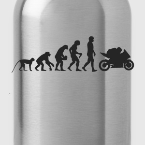 Evolution motorcycle T-Shirts - Water Bottle