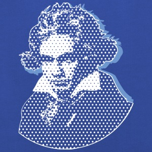 Beethoven in Dots - Black+Dark Shirts Edition T-Shirts - Kinder Premium Hoodie