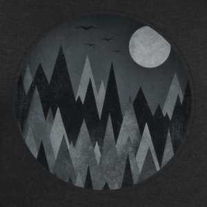 Dark Triangles - Abstract Halloween Mountains T-Shirts - Männer Sweatshirt von Stanley & Stella