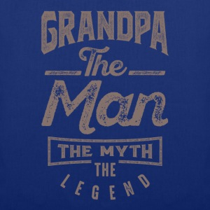 Grandpa. The Man. The Myth. The Legend - Tote Bag