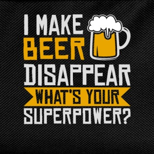 I Make Beer Disappear T-Shirts - Kids' Backpack