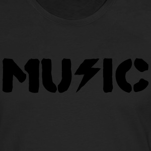 music T-Shirts - Men's Premium Longsleeve Shirt