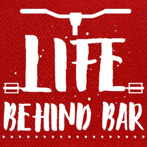 Life behind bar/bicycle T-Shirts - Snapback Cap