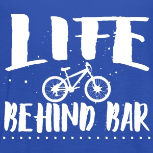 Life behind bar/bicycle T-Shirts - Women's Tank Top by Bella