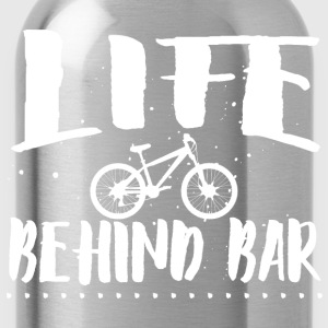 Life behind bar/bicycle T-Shirts - Water Bottle