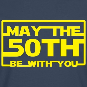 May the 50th be with you Hoodies & Sweatshirts - Men's Premium Longsleeve Shirt