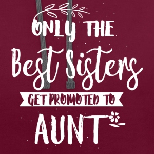 Promoted to aunt T-Shirts - Contrast Colour Hoodie