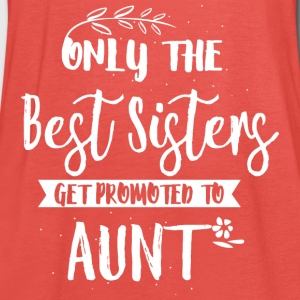 Promoted to aunt T-Shirts - Women's Tank Top by Bella