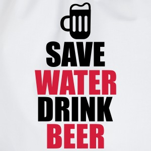 Save water drink Beer  - Sportstaske