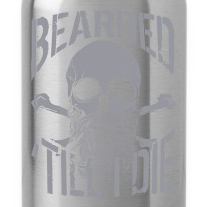 Bearded Till I Die - Water Bottle