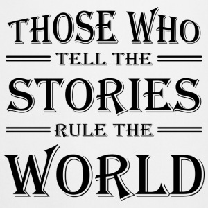 Those who tell the stories rule the world Shirts met lange mouwen - Keukenschort