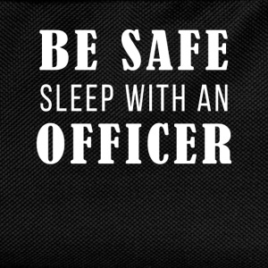 Be safe sleep with an officer - Kids' Backpack