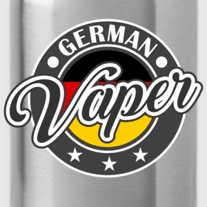 Vape Design German Vaper  Hoodies & Sweatshirts - Water Bottle