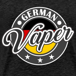 Vape Design German Vaper  Hoodies & Sweatshirts - Men's Premium T-Shirt