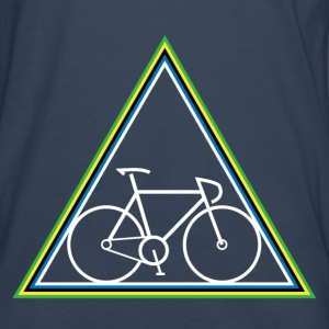 Hipster Fixie - Triangle - Men's Premium Longsleeve Shirt