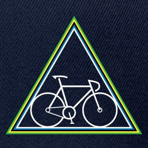 Hipster Fixie - Triangle - Snapback Cap