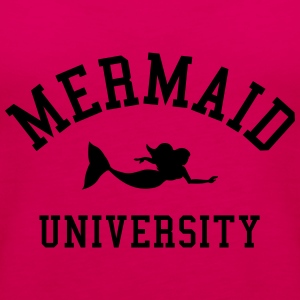 Mermaid University T-shirts - Vrouwen Premium tank top
