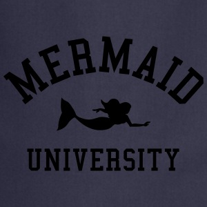 Mermaid University Camisetas - Delantal de cocina