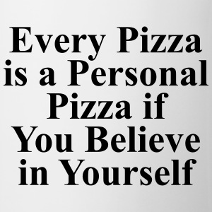 Every pizza is a personal pizza if you believe T-shirts - Kop/krus