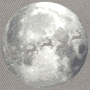 full moon xmas vollmond T-Shirts - Snapback Cap