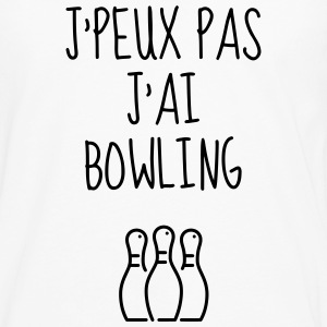Bowling - Bowler Sport Sportif Athlète Tee shirts - T-shirt manches longues Premium Homme