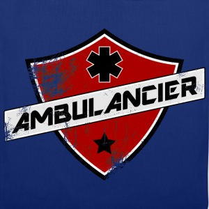 blason_ambulancier_grunge Tee shirts - Tote Bag