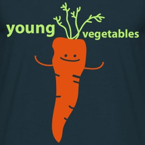 young vegetables Tabliers - T-shirt Homme