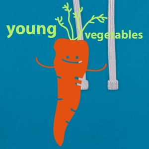 young vegetables Babyhaklapp - Kontrastluvtröja