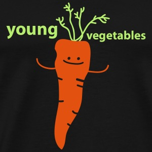 young vegetables Toppe - Herre premium T-shirt