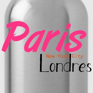 tee shirt femme Paris/NYC/London - Gourde