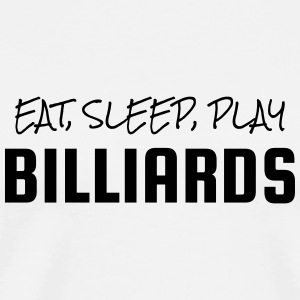 Billiards - Snooker - Billard - Sport - Winner  Mugs & Drinkware - Men's Premium T-Shirt
