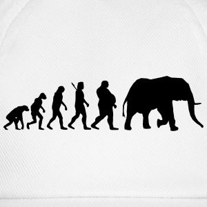 Evolution Elephant T-Shirts - Baseballkappe