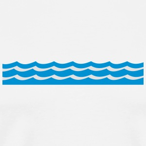 waves Mugs & Drinkware - Men's Premium T-Shirt