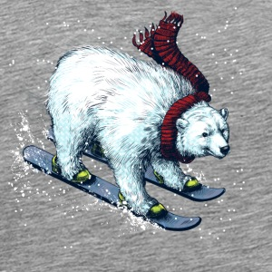 Snow Bear - Men's Premium T-Shirt