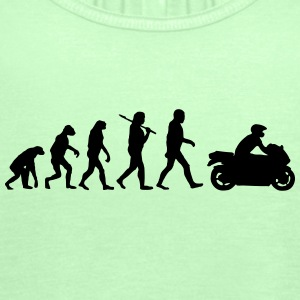 EvolutionofMotorrad T-Shirts - Frauen Tank Top von Bella