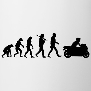 EvolutionofMotorrad T-Shirts - Tasse