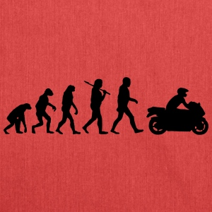 EvolutionofMotorrad T-Shirts - Schultertasche aus Recycling-Material